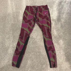 Nike Pink Camo Leggings